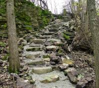 natural stairs